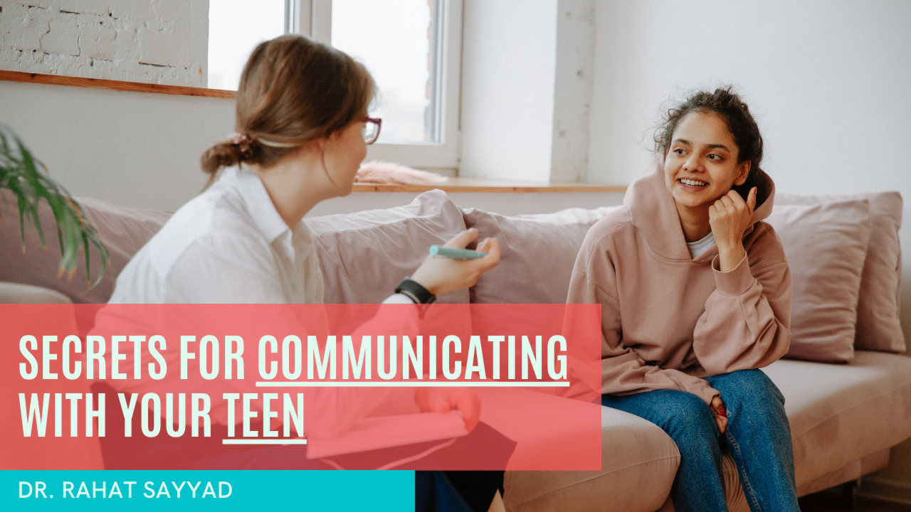 Secrets to communicating with tweens and teenagers.