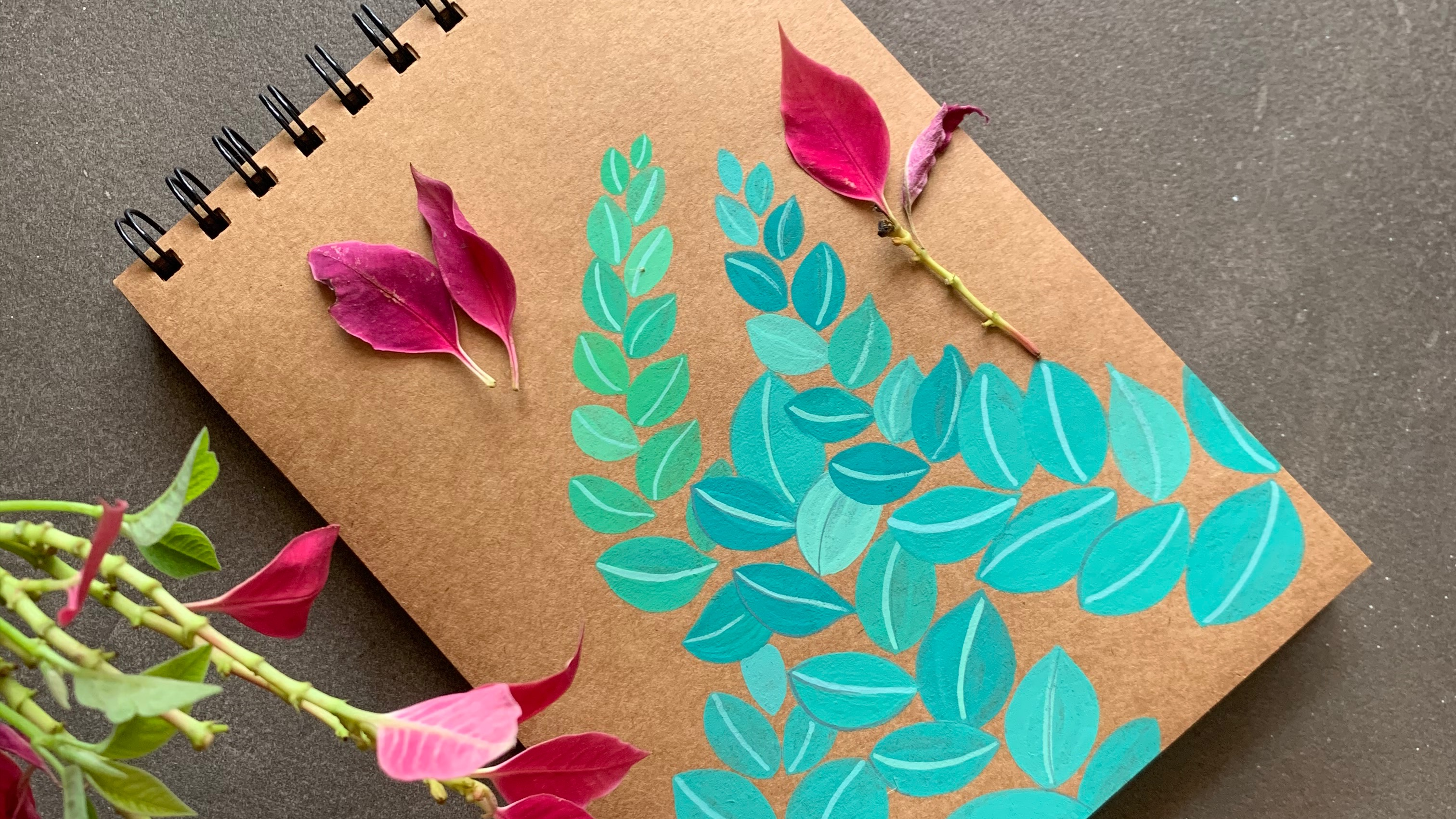 What is Gouache? Introduction with Botanical Illustration