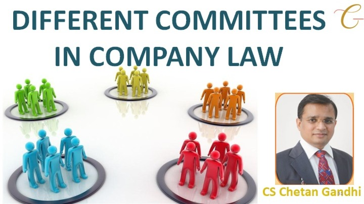 Different Committees in Company Law