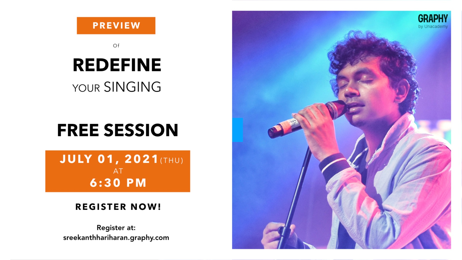 Preview: Redefine your Singing (Free Session)