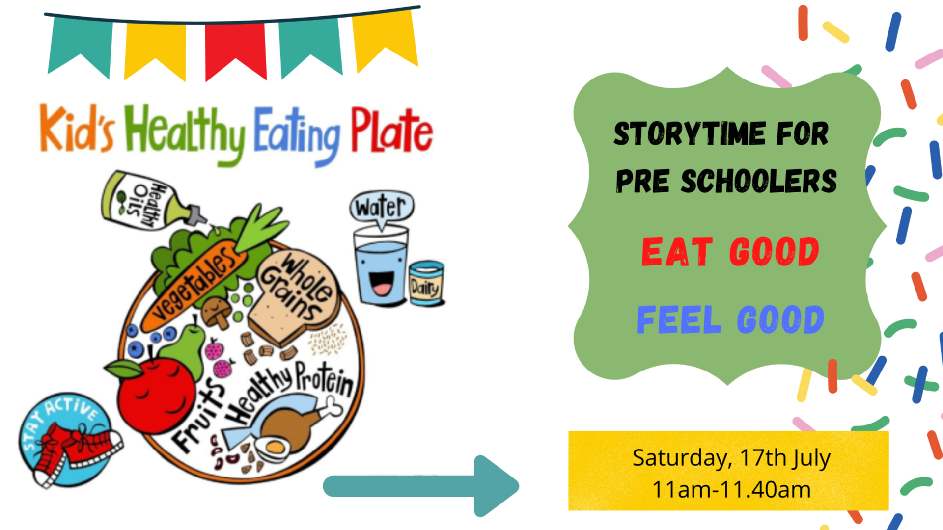 Story time - Let's Eat Healthy