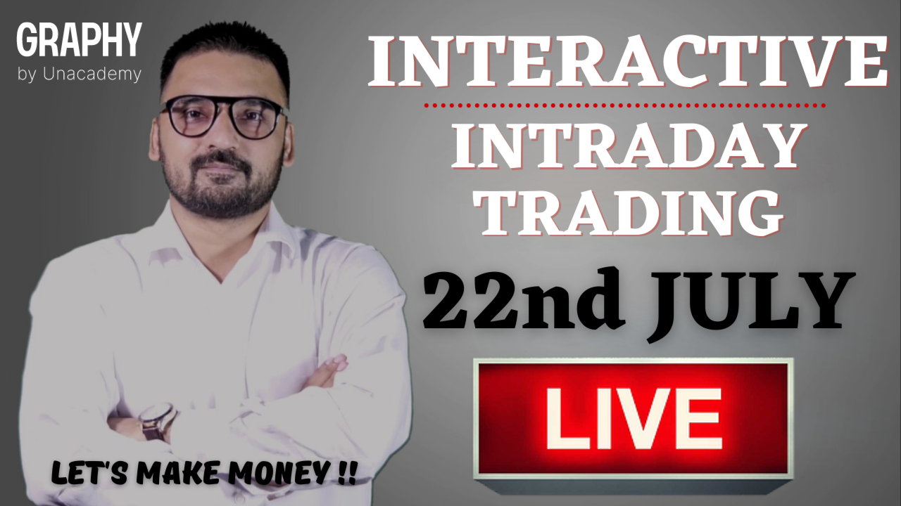 Interactive Intraday Trading (Nifty/Bank Nifty) 22nd July 2021