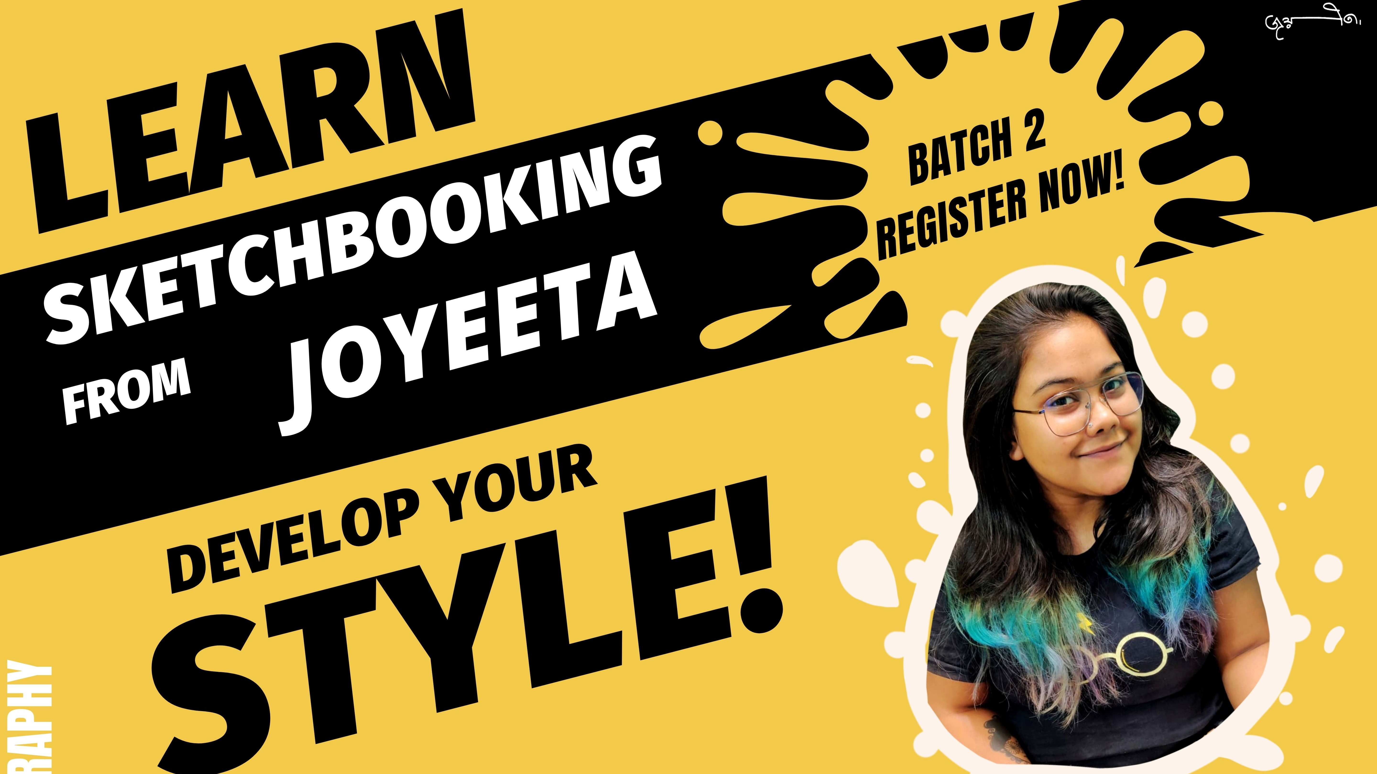 How a Sketchbook can change your Life - Batch 2