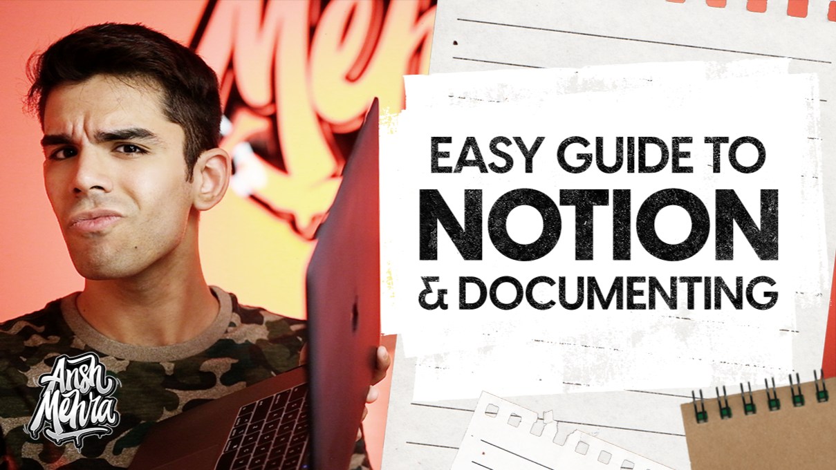 How to Use Notion For Learning, Documenting & Manifesting