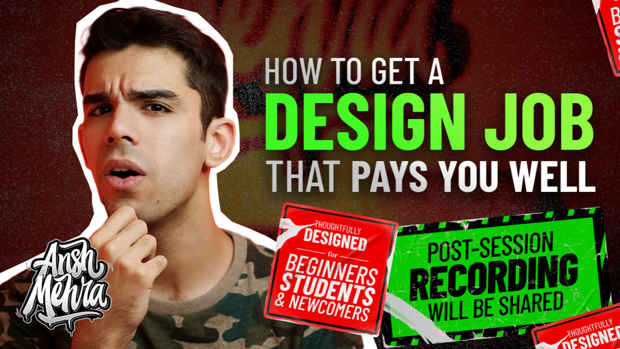 How to Get a Design Job That Pays You Well