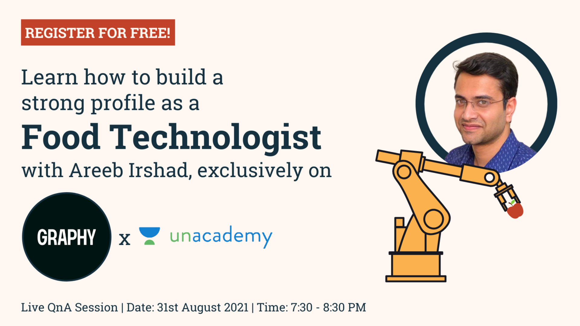 How to build your profile as a Food Technologist? | QnA Session