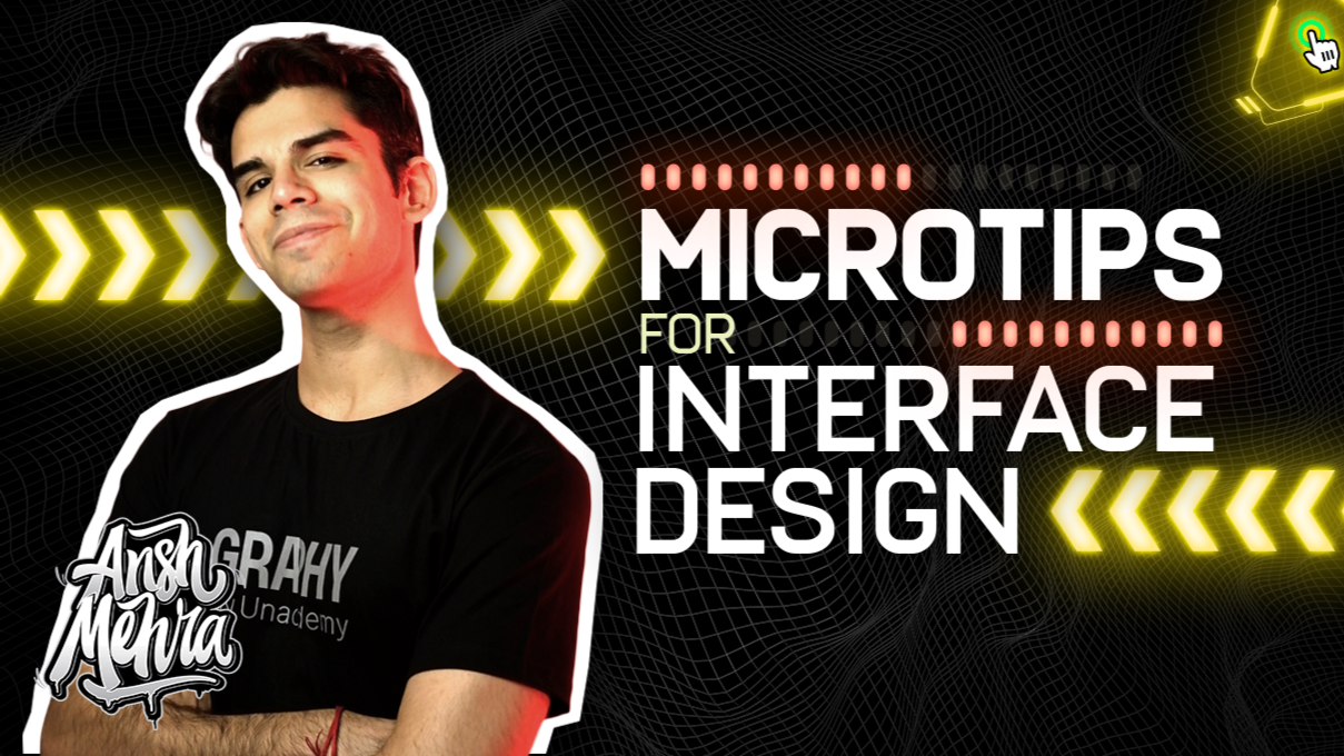 Microtips for User Interface Design & Visual Design