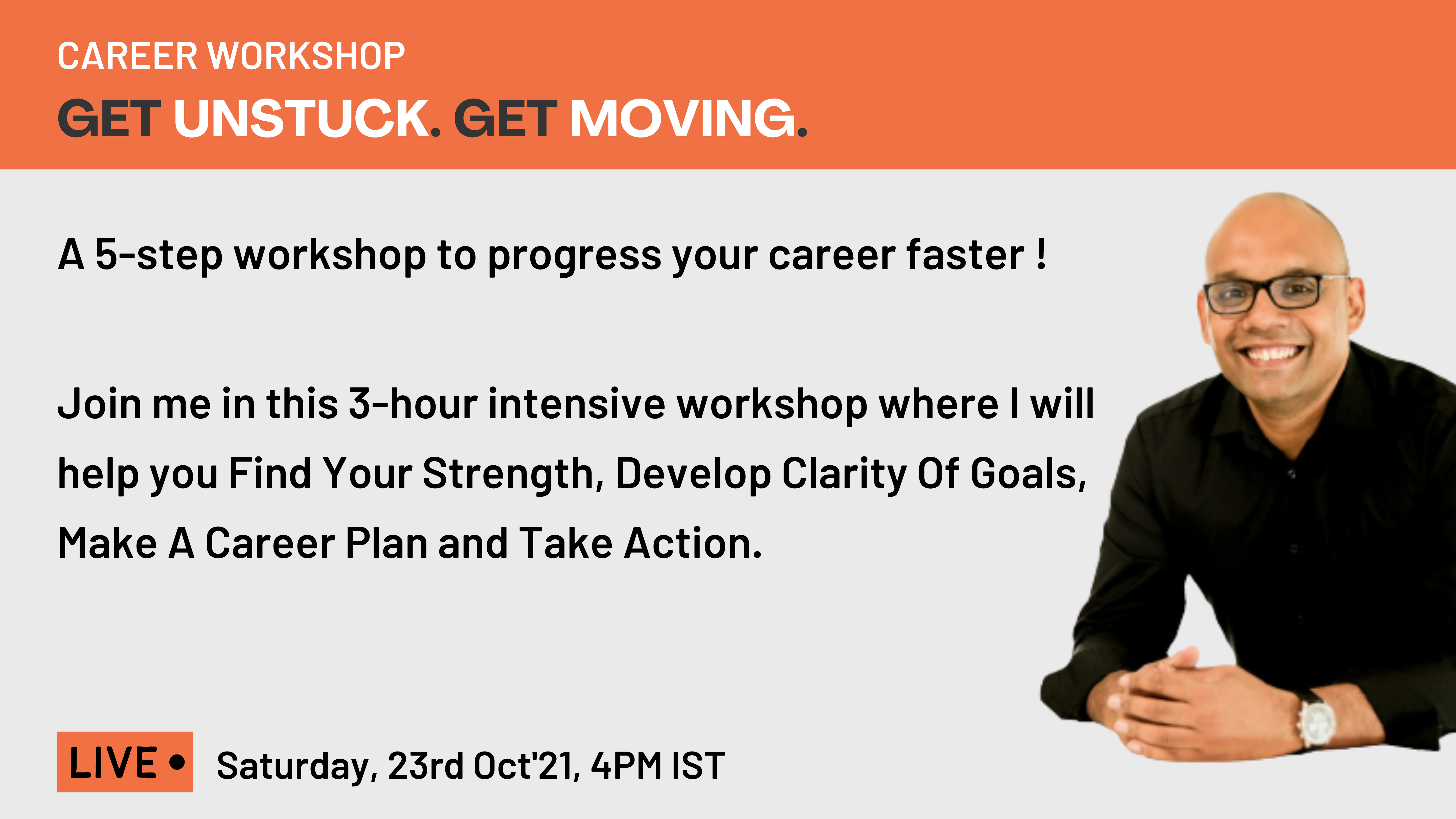 GET UNSTUCK. GET MOVING. A 5-STEP PLAN TO GET THE CAREER YOU WANT (2)