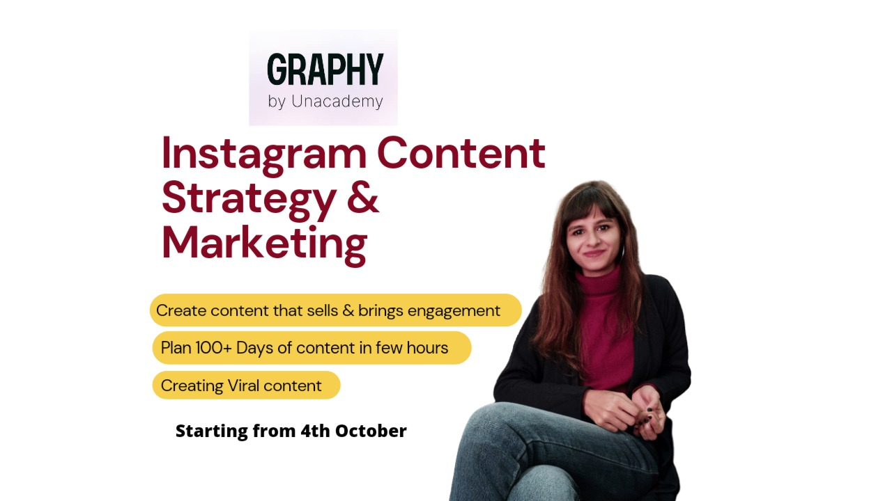 Instagram Content Strategy- For Creators, Artists & Small Business Owners