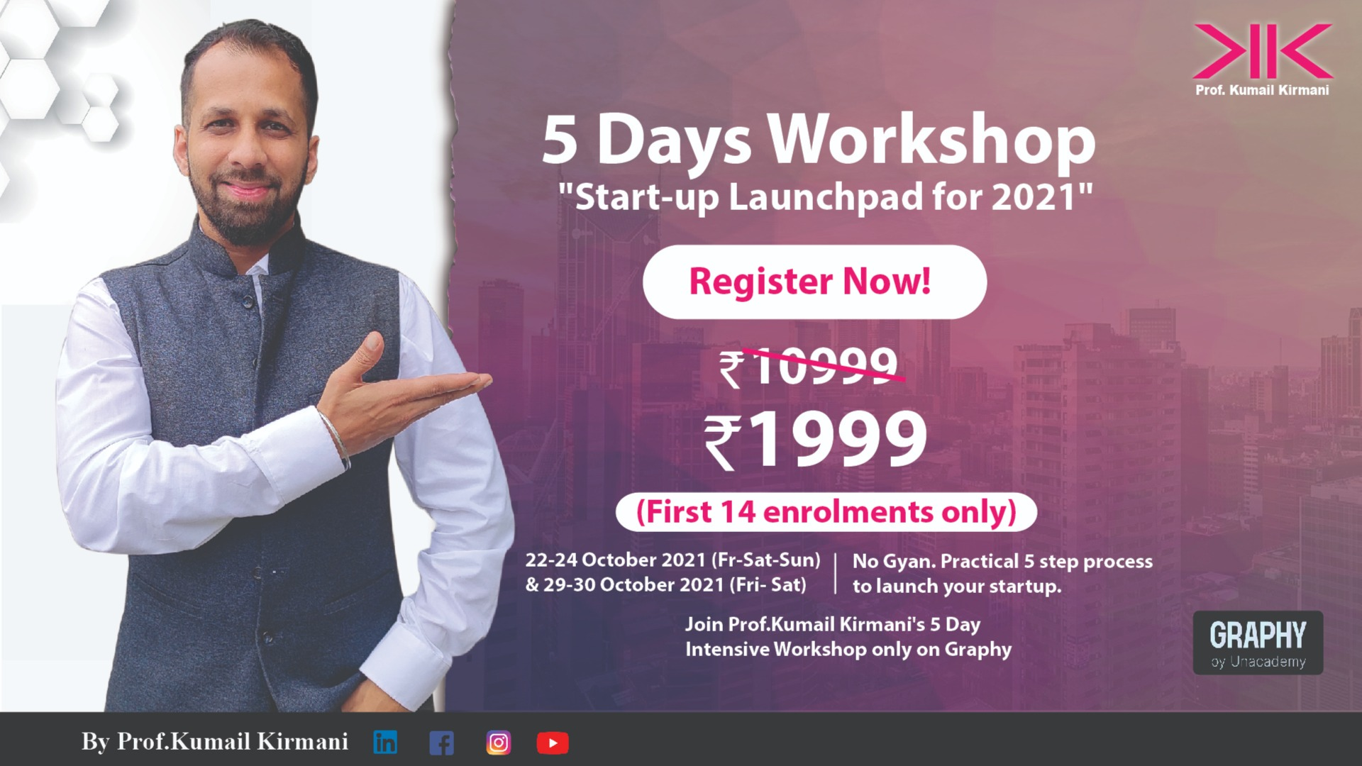 """5 Days Workshop """"Start-up Launchpad for 2021"""""""
