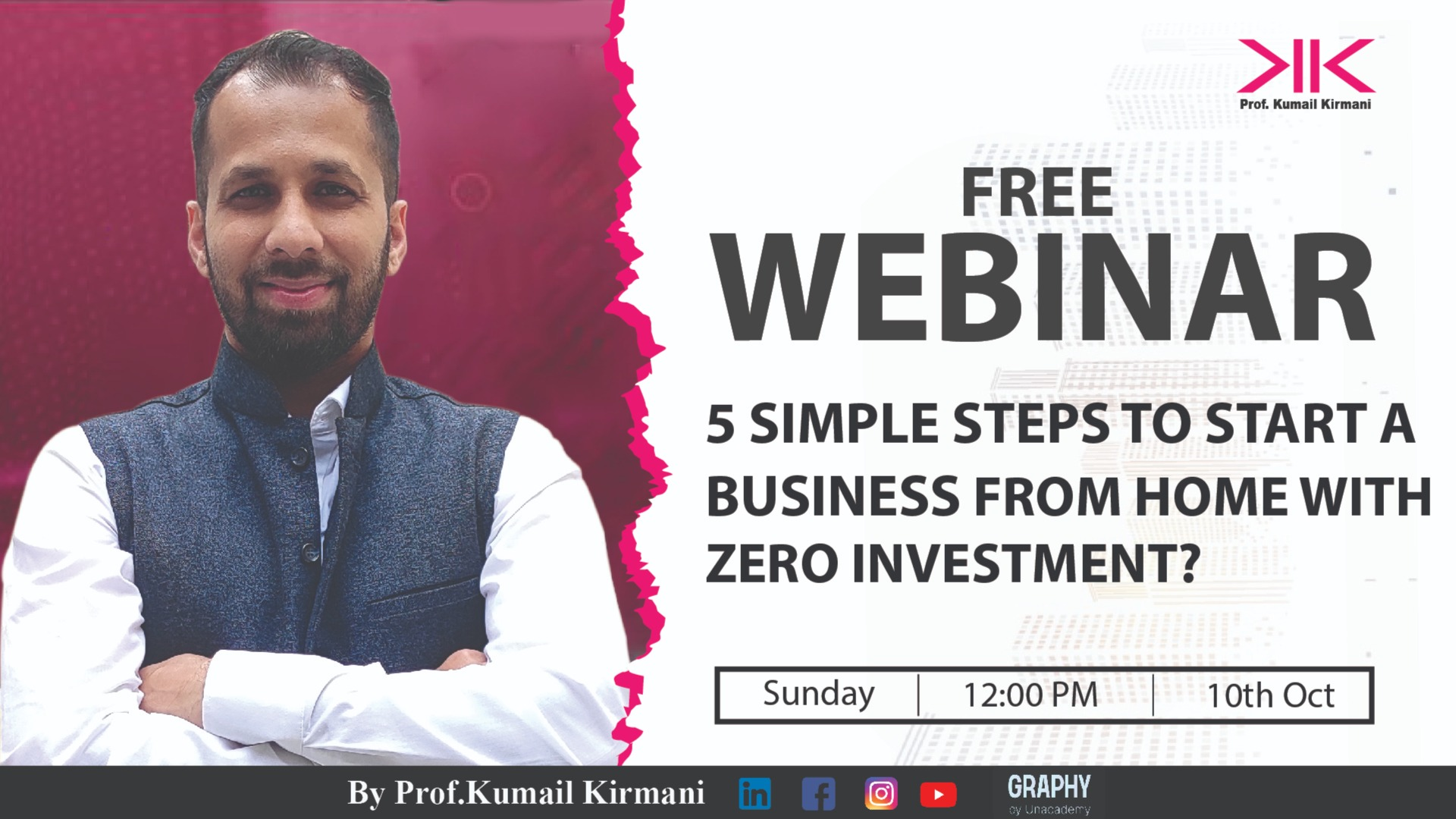 5 simple steps to Start a Business from Home with Zero Investment?